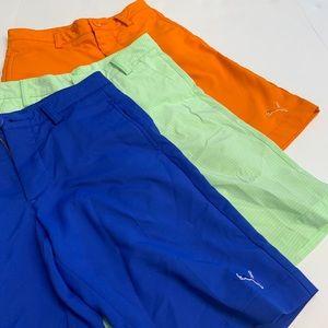 Boys Puma Golf Shorts XS
